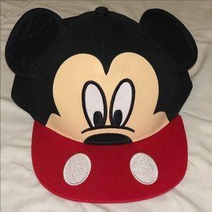 ~MICKEY MOUSE EARS DISNEYLAND SNAPBACK HAT~